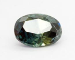 1.055Ct Parti Coloured  Sapphire