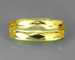 certified-2.30~CT GORGEOUS NATURAL BRAZILIAN GOLDEN IMPERIAL TOPAZ $690.00