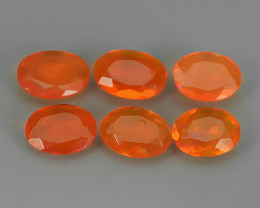 1.90 CTS BEST QUALITY~TOP COLOR EXTREME WONDER LUSTROUS GENUINE FIRE OPAL!