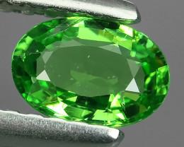 ~DAZZLING RARE NATURAL EARTH MINED TOP GREEN GARNET TSAVORITE NR!!!