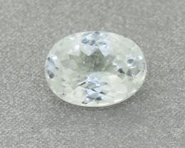 Untreated Natural Ceylon White Sapphire 1.03ct (01388)