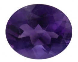 2.22 ct Oval Amethyst  (Deep Rich Purple)