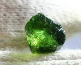 6.60 CT Natural - Unheated  Green Tourmaline Rough