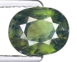 1.38 Ct Hyacinth Rare Zircon Top Quality Gemstone. GZ 10