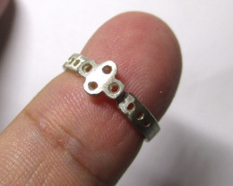 9.28cts Sterling Silver Semi Finished Ring