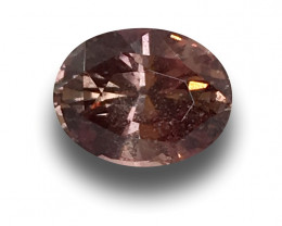 Natural GRS Padparadscha|Loose Gemstone|New| Sri Lanka
