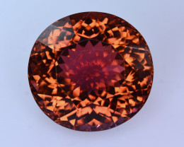 51.60  Ct Natural Untreated Brownish Pink Tourmaline From Jaba Mine