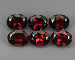 8.70 CTS AWESOME NATURAL RARE RED RHODOLITE GARNET GEM!!!