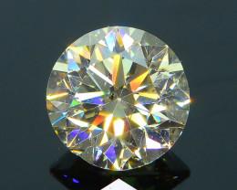 Untreated 0.70 ct Yellow Diamond SKU-9