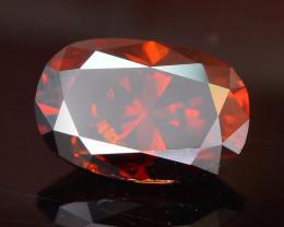 AIG Certified Amazing Reddish Orange 1.09 ct Diamond SKU-10