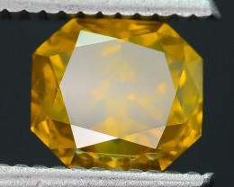 AIG Certified Greenish Yellow 2.14 ct SI2 Clarity Diamond SKU-10