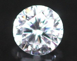 3.00mm D/E/F VVS Natural Round Brilliant Cut Diamond