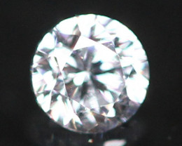 2.60mm D/E/F VVS Natural Round Brilliant Cut Diamond