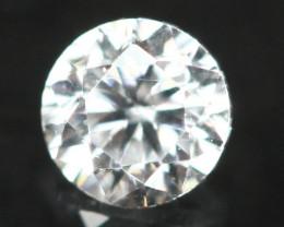 2.90mm D/E/F VVS Natural Round Brilliant Cut Diamond