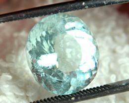 4.44 Carat Pretty, Included Aquamarine