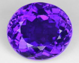 18.02 Ct Natural Amethyst  With Top Class Luster. AT 01