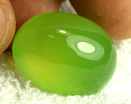 46.58 Carat Green Agate Cabochon - Gorgeous