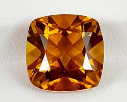 6.95Crt Madeira Citrine  Best Grade Gemstones JI23