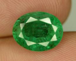 2.80 CT NATURAL GREEN ZAMBIAN EMERALD