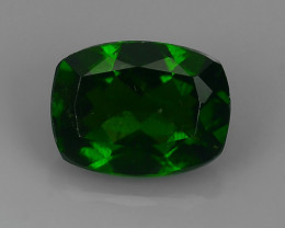 1.47  Cts MARVELOUS RARE NATURAL TOP GREEN- CHROME DIOPSIDE DAZZLING  NR!!