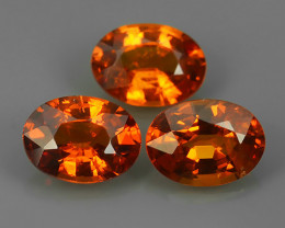 3.05 CTS WORLD CLASS RARE COLLECTION - 100 % NATURAL TOP ORANGE SPESSARTITE