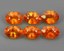 5.95 Cts_Oval Cut_Marvelous_Electric Fanta Orange_Africa_Sizzling_Spessarit