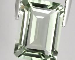 6.25ct Shimmering  Cut Green Amethyst  (Prasiolite) - NO RESERVE AU