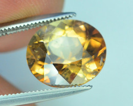 Top Quality 4.55 ct Champagne Color Topaz Skardu Pakistan