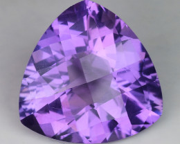 7.06 Ct Natural Amethyst  With Top Class Luster. AT 24