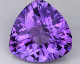 7.62 Ct Natural Amethyst  With Top Class Luster. AT 25