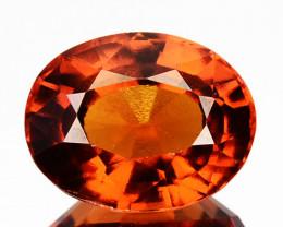 Natural Cinnamon Orange Hessonite Garnet Oval Srilanka 3.07 Cts