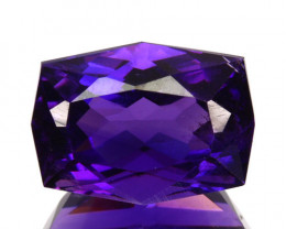 Natural Top Purple Color Amethyst Fancy Cut Bolivia 2.79 Cts
