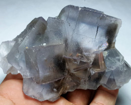 Amazing and lovely gemmy  Fluorite have Phantom specimen 2330Cts - Pakistan