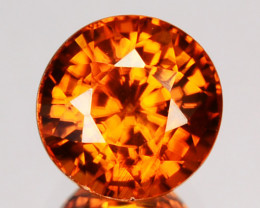 Glittering Natural Imperial Zircon Round 2.00Ct