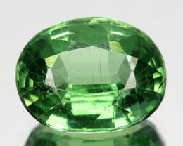 Rare Top Green Natural Kyanite Oval Nepal 2.18Ct