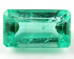 2.83 ct Natural Colombian Emerald Cut Green Gem Loose Gemstone Stone