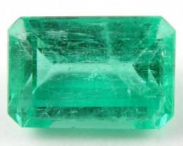 1.94 ct Natural Colombian Emerald Cut Green Gem Loose Gemstone Stone