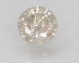 IGL Certified Natural White Diamond - 0.85 ct