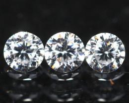 2.00mm D/E/F VVS Clarity Natural Brilliant Round Diamond