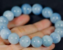 286.5Ct Natural Aquamarine Bracelet