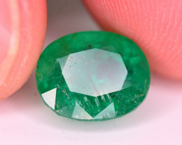 GGL Certified 3.70 Ct Natural Panjsher Emerald. ARA