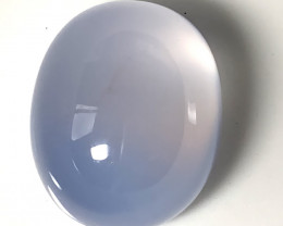 21.20ct Fabulous Blue Chalcedony gem Cabochon - No reserve ~