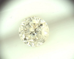 0.48ct Faint Yellow   Diamond , 100% Natural Untreated