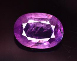 Rare 1.85 Ct Natural Corundum Pink Sapphire From Kashmir