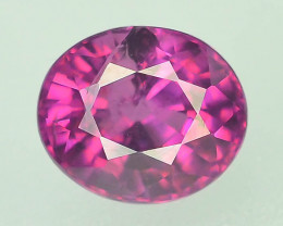Rarest 1.15 ct Grape Garnet one of a Kind Fire