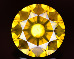 4.15 Ct Natural Greenish Yellow Diamond Gemstone