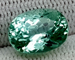 4.85CT GREEN SPODUMENE  BEST QUALITY GEMSTONE IGC75