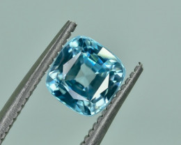 1.39 Crt Natural Zircon Faceted Gemstone.( AG 24)