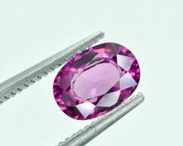 1.27 Crt Natural Rhodolite Garnet Faceted Gemstone.( AG 24)