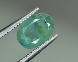 1.54 Crt Natural Emerald Faceted Gemstone.( AG 24)